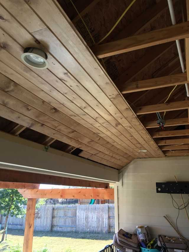 Tongue And Groove Patio Ceiling Tongue And Groove Ceiling Porch