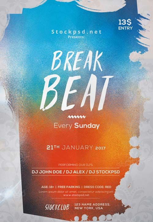Electro Beats Party Free PSD Flyer Template - http://freepsdflyer.com/electro-beats-party-free-psd-flyer-template/ Enjoy downloading the Electro Beats Party Free PSD Flyer Template created by Stockpsd!   #Anniversary, #Bday, #Birthdaye, #Classy, #Club, #Dance, #Dj, #Elegant, #Event, #Gold, #Party, #Silver