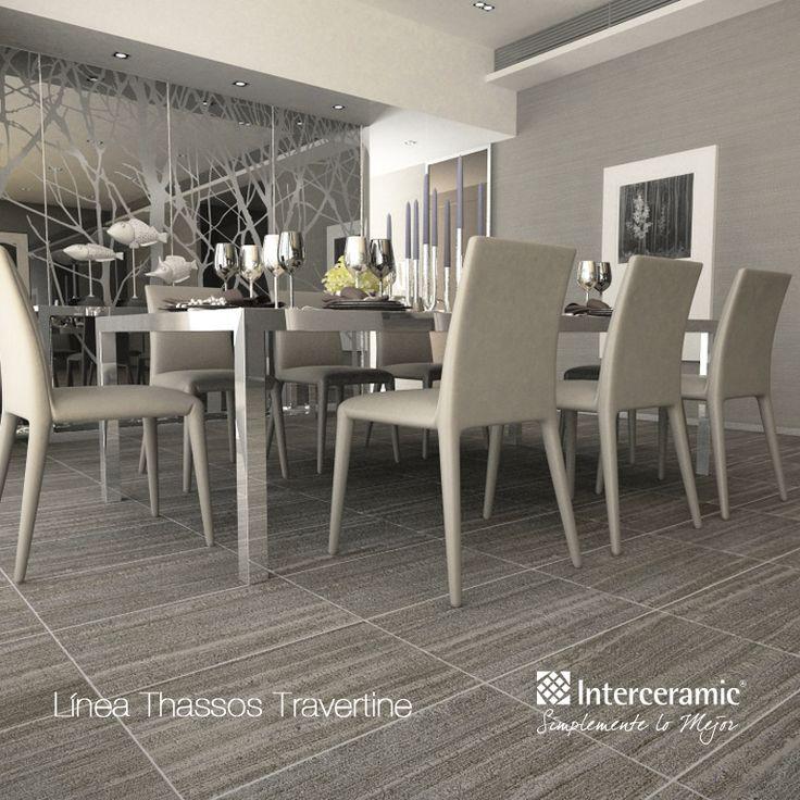 Thassos travertine de interceramic estilos de m rmol for Interceramic pisos