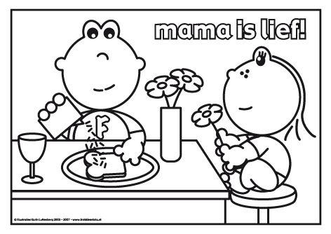 Mama is lief! Frokkie en Lola zijn druk in de keuken. Het is moederdag en ze maken een heerlijk ontbijtje voor moeder. Met vers sinaasappelsap, een lekker boterham en Lola heeft nog een paar mooie bloemetjes geplukt.