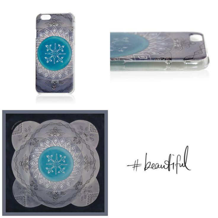 Cosmic Labyrinth phone case