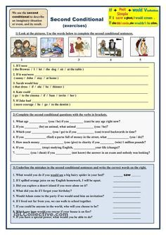 Second Conditional (exercises)
