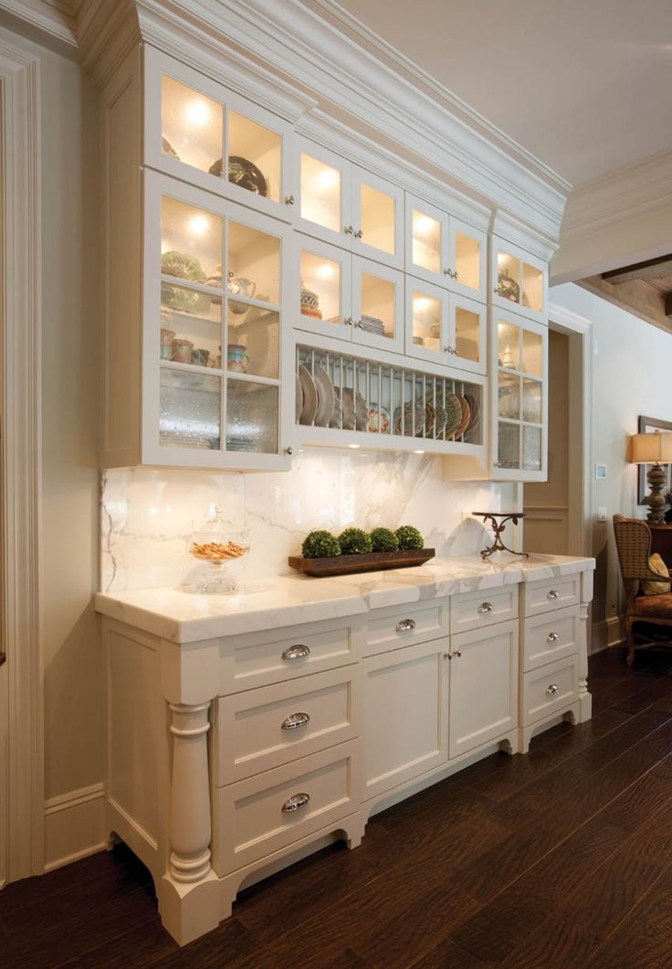 This Wall Of Cabinetry Was Built To Showcase The Homeowner