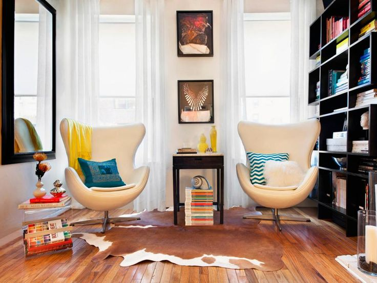HGTVRemodels.com has the simple tips, design ideas and color schemes you need to make your small living room feel bigger.