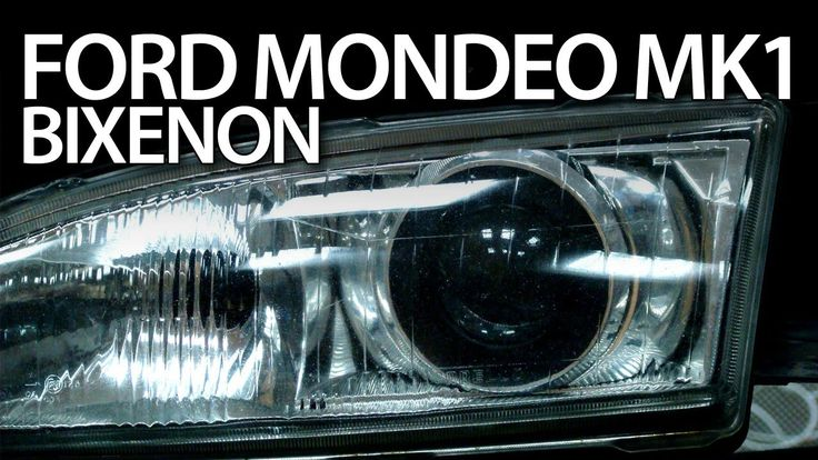 #Ford #Mondeo MK1 #xenon headlights with lens projectors #bixenon #cars