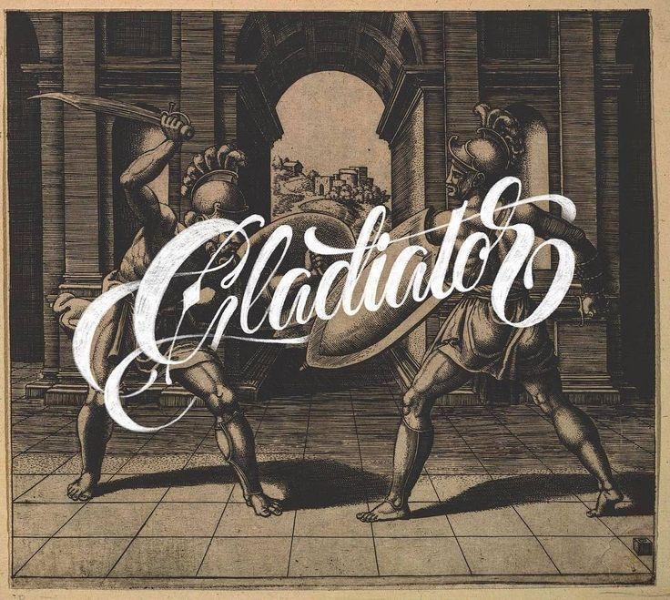 @davihero killin it gladiator style. - #typegang - free fonts at typegang.com | typegang.com #typegang #typography