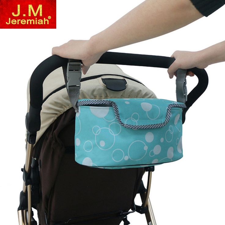 JEREMIAH Multifunctional Waterproof Baby Stroller Bag Mummy Diaper Storager Thermal Insulation Nappy Bag Stroller Accessories