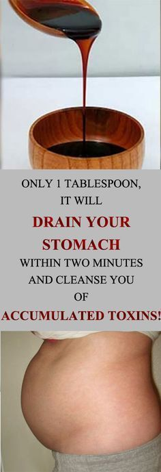 ONLY 1 TABLESPOON, IT WILL DRAIN YOUR STOMACH WITHIN TWO MINUTES AND CLEANSE YOU OF ACCUMULATED TOXINS! – MayaWebWorld