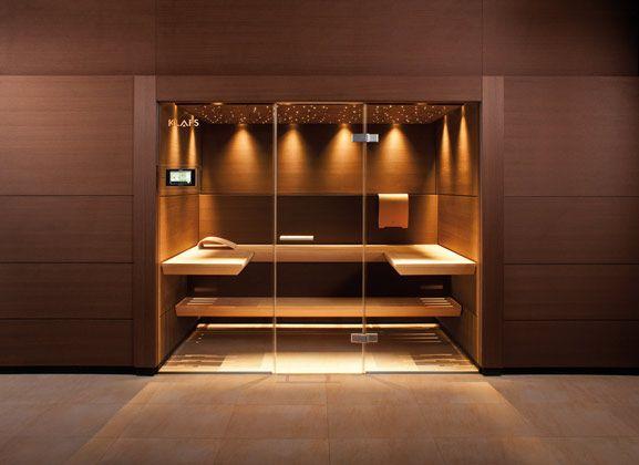 Klafs Sauna – looks so comfortable