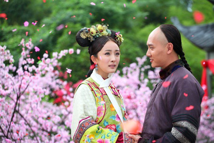 #Yangmi and #Fengshaofeng in Palace