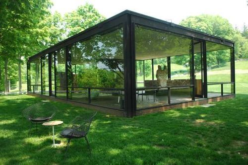phillip johnson new canaan the glass house architecture pinterest glass houses philip. Black Bedroom Furniture Sets. Home Design Ideas