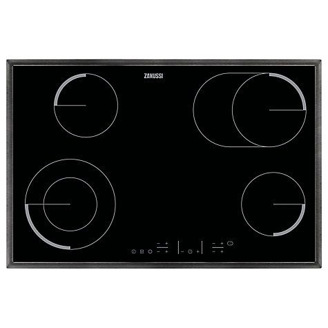 Buy Zanussi ZEV8646XBA Electric Hob, Stainless Steel Online at johnlewis.com