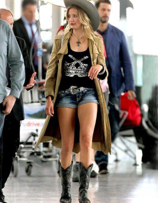 9 best Celebs Wearing Cowboy Boots images on Pinterest