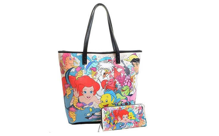Get Under the Sea Style with The Little Mermaid Loungefly Purse