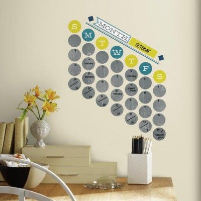 Create Your Own Retro Dry Erase Wall Decals