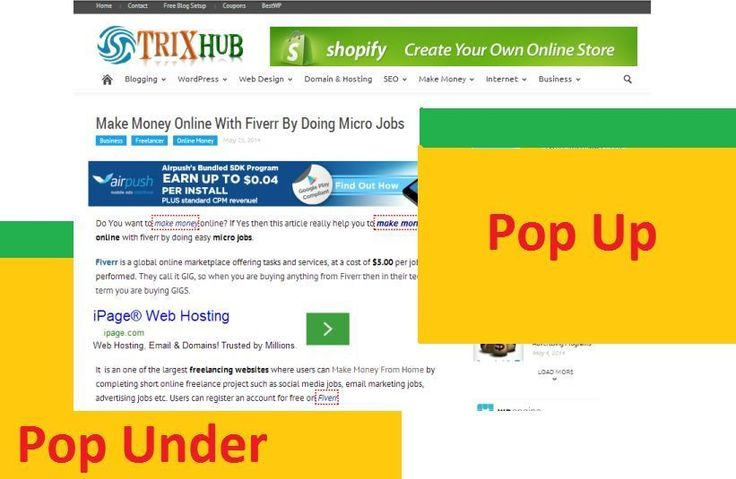 check the best pop under advertising programs, reviews, payment, best pop up ads review, best cpm ad networks for freebies sites. increase…