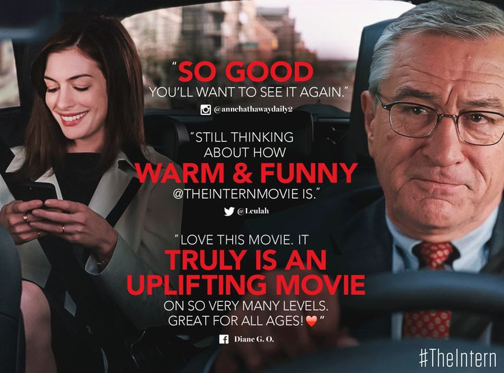 Image result for the intern quotable quote