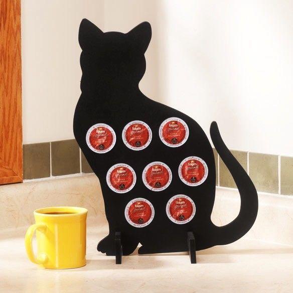 #CatKCupHolder #CatKCupCoffeePodHolder #CatSilhouetteCoffeePodHolder, #CatKitchen #JoSam1129 #CatGifts Cat K-Cup Coffee Pod Holder - Cat Silhouette Coffee Pod Holder, Cat Love Kitchen #CatCoffeePodHolder