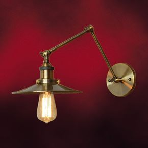 可動式ウォールランプ(関節照明・ブラケットランプ・アンティーク・おしゃれ・インテリア)INK-1001030H