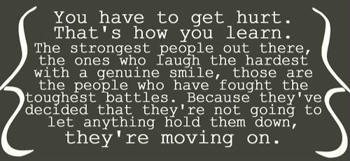 Lessons in Life.