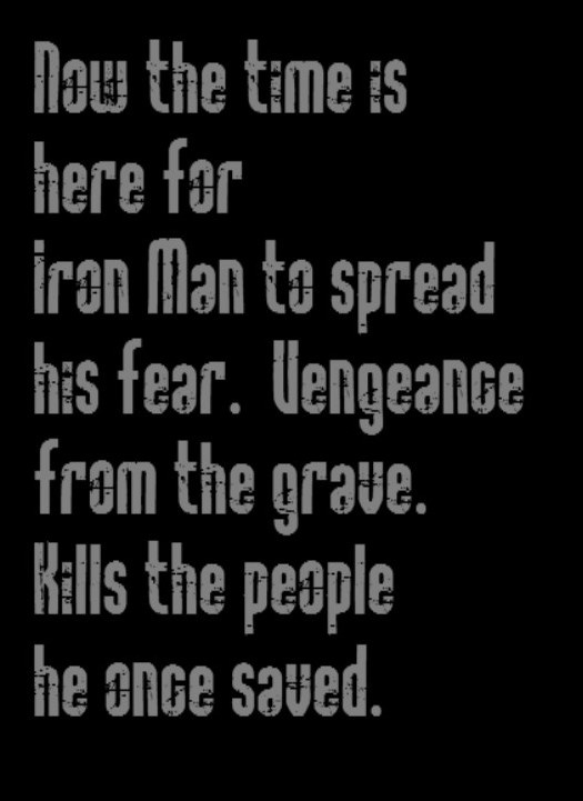 Black Sabbath - Iron Man song lyrics, music lyrics