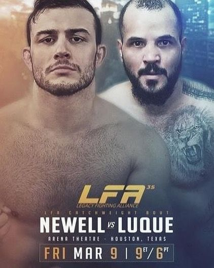 "#NickNewell @notoriousnewell made a successful return to #MMA last night defeating #SonnyLuque with a rear-naked choke submission at 2:10 of the first round of #LFA35. . . This was Newell's first #fight since he retired in 2015. His record now stands at 14-1 (his only loss coming from #UFC #lightweight #JustinGathje) and the congenital amputee who #DanaWhite in the past has been dismissive about signing immediately called out the promotion: . . ""Im one of the best fighters in the world and I…"