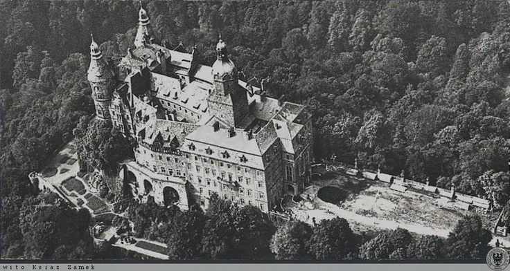 Schloß Fürstenstein - during WWII.