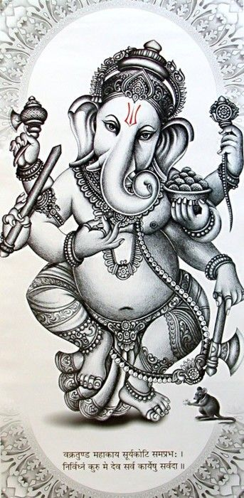 Ganesh-Ganesha is worshipped as the lord of wisdom and success, beginnings and…