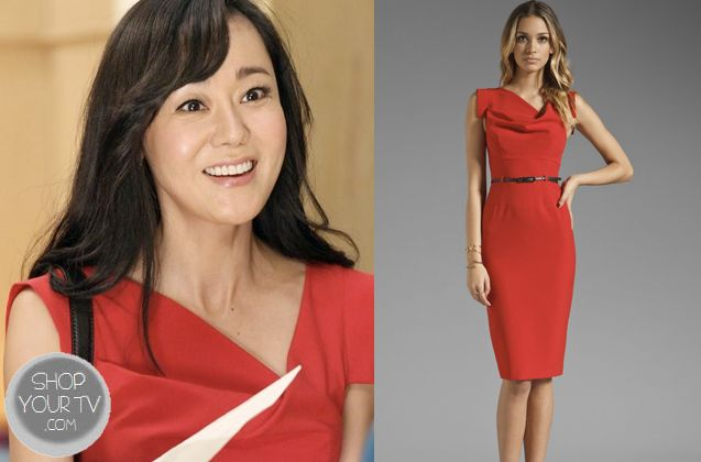 Shop Your Tv: Mistresses: Season 1 Episode 5 Karen's Red Belted Dress