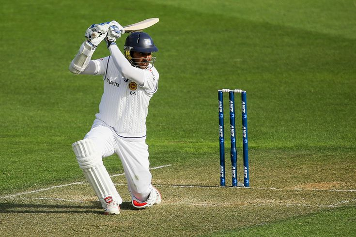 Signed, Sanga: the bent-kneed cover drive