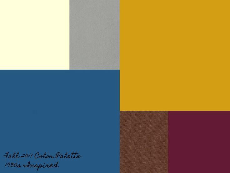Blue Brown Color Scheme Bedroom