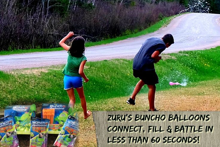 Water fights the way they were meant to be with Buncho Balloons by Zuru
