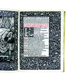 Morris, William (c.1897) - Love is Enough: A Morality.  Hammersmith: Kelmscott Press.