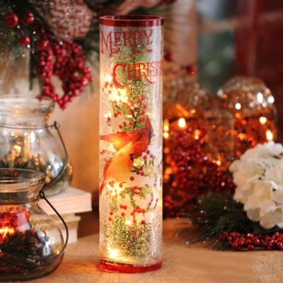 Pre-Lit Christmas Cardinal Hurricane | Products, Christmas ...