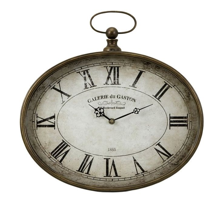 Want a clock that is inspired by old pocket watches? Want that clock to have rustic and rural feel that will captivate everyone's attention most instantly? Well, you have hit the bull's eye with your clock search. The Jefferson clock is a creation that has that vintage feel. This oval clock features large, easy to read roman numerals, elegant black hands and an artfully distressed face. Reading time from it will be a very fruitful exercise because you will be taken back in time every ...