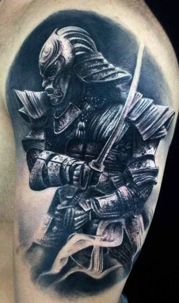 Samurai Tattoo Designs For Men Noble Japanese Warriors Within