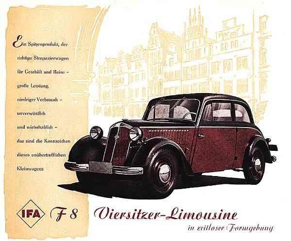 IFA F8 Viersitzer Limousine