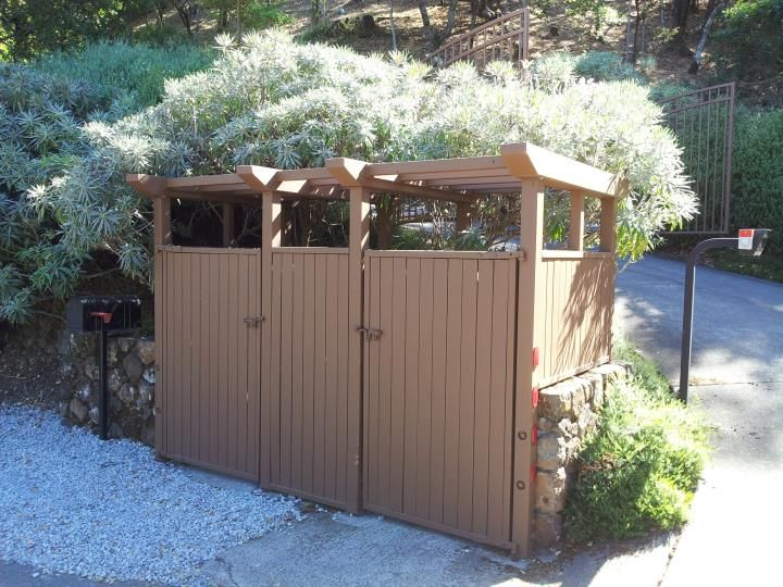 1000 Images About Garbage Can Shed On Pinterest: 14 Best Images About Garbage Can Enclosure On Pinterest