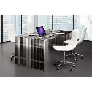 Zuo Modern Novel Dining Table $1998.99    would be awesome as a desk