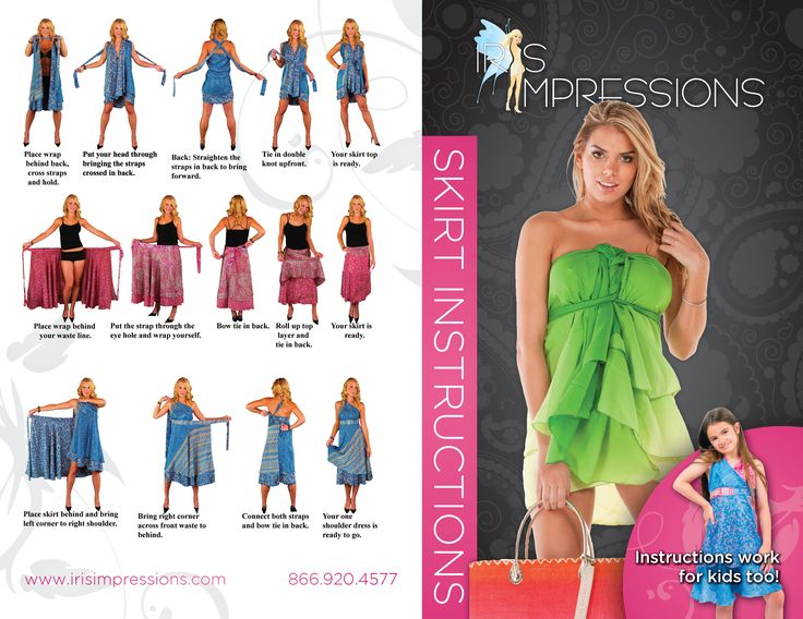 How To Style Convertible Wrap Skirts My Style Pinterest Convertible Wraps And Iris
