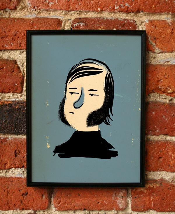 Barbas / Pixelbox #pixelbox #grafica #illustrazione #ritratti