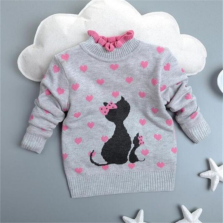 new2016 arrived girls autumn/spring wear girls sweater children clothing babi girls sweater winter warm cute outerwear #>=#>=#>=#>=#> Click on the pin to check out discount price, color, size, shipping, etc. Save and like it!