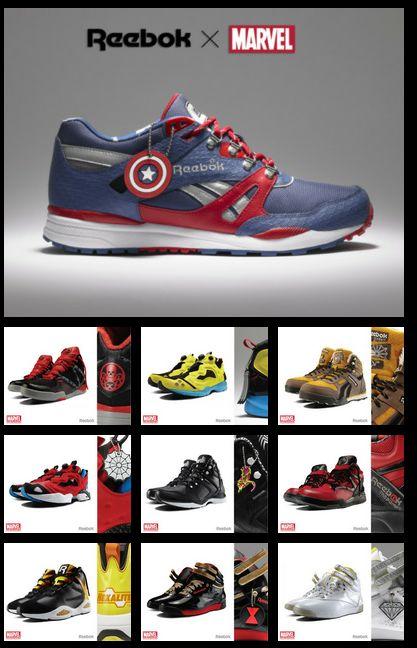Reebok x Marvel, Shoe Collaboration!