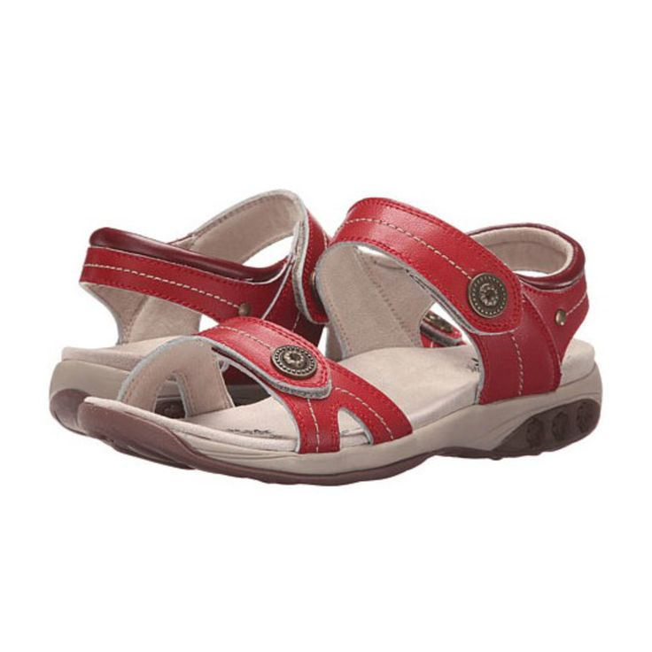 """Therafit Grace Sandal: """"This brand has patented technology with adjustable cushion and shock-absorbing midsoles, contoured foot bed, superior…"""