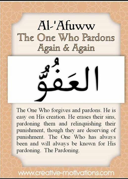 99 names of Allah Asmaul Husna