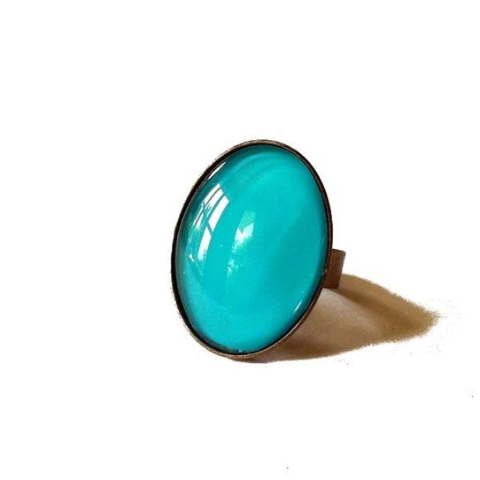 Pretty Birds Creations - Aquamarine Ring from the Tropical Summer Collection at www.prettybirds.co.nz