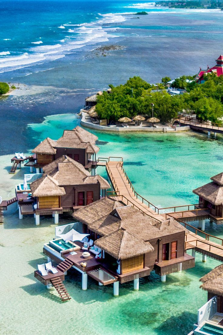 The Best Overwater Bungalow Resorts in Caribbean (Yes, They Exist!) - The coveted overwater bungalow resort experience is no longer exclusive to that far-off paradise we know as the South Pacific. Now, a wave of new properties in the Caribbean, each with their own collection of stilted villas, are changing the hotel game.