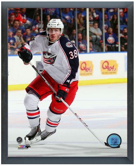 """Boone Jenner 2013-14 Columbus Blue Jackets- 11"""" x 14"""" Photo in a Glassless Frame"""