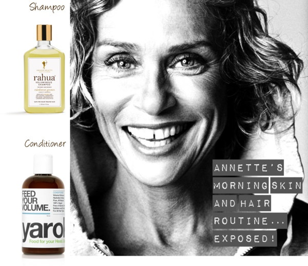 """""""Annette's Morning Skin and Hair Routine… Exposed!""""By No More Dirty Looks blog"""