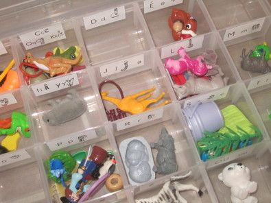 Montessori  Phonologie - la mallette des sons